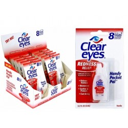 Clear Eyes 6ml Ögondroppar 5-pack